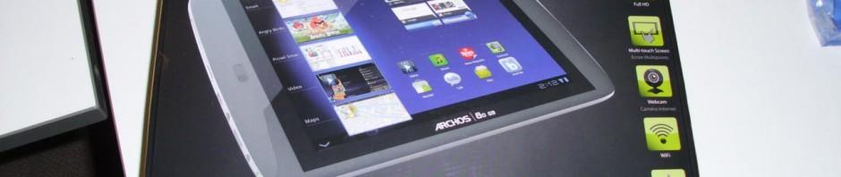 Archos 80 G9 unboxing